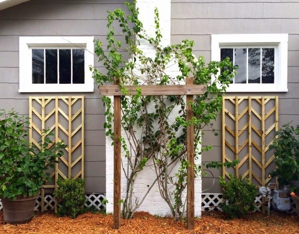 4 Curb Appeal Projects You Can Do This Weekend-DIY lattice trellis.jpg