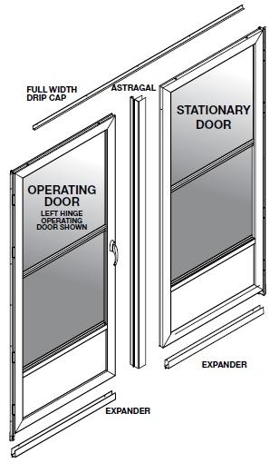 French Door Storm Door Kit : The easy guide to measuring french door style storm doors