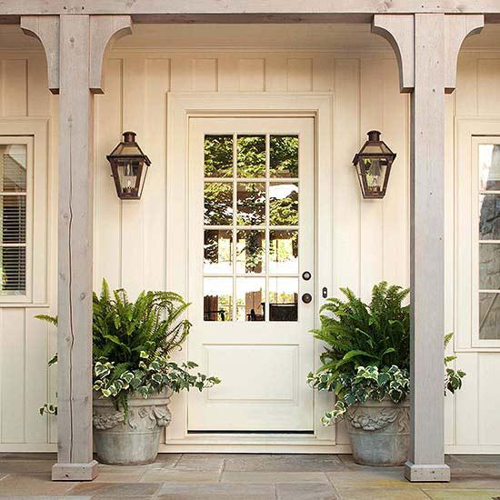 Neutral Tone Front Door