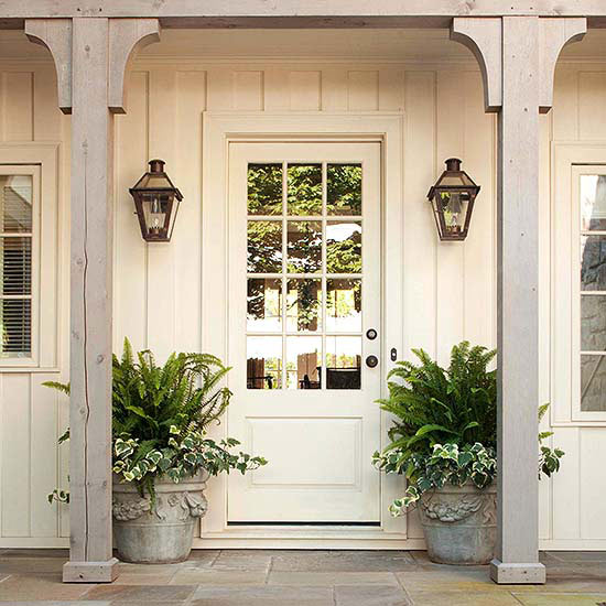 Neutral Tone Front Door