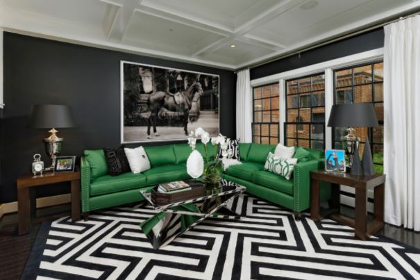 Home Decorating Ideas That Will Leave You In Awe   Bold Printed Rug.jpg