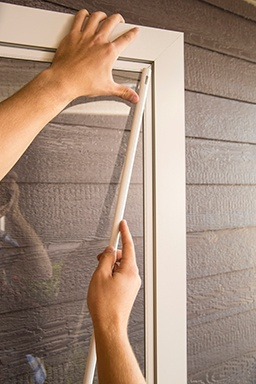 Your Larson Storm Door How To Switch The Full Glass And