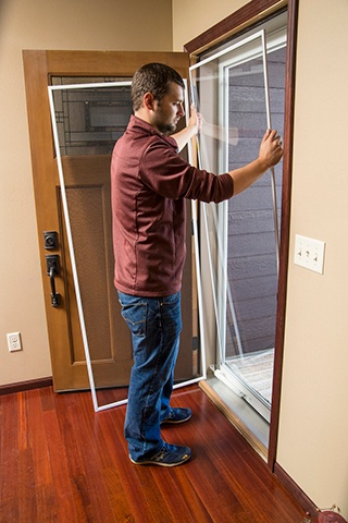 How To Switch Your Fullview Storm Door From Glass To A