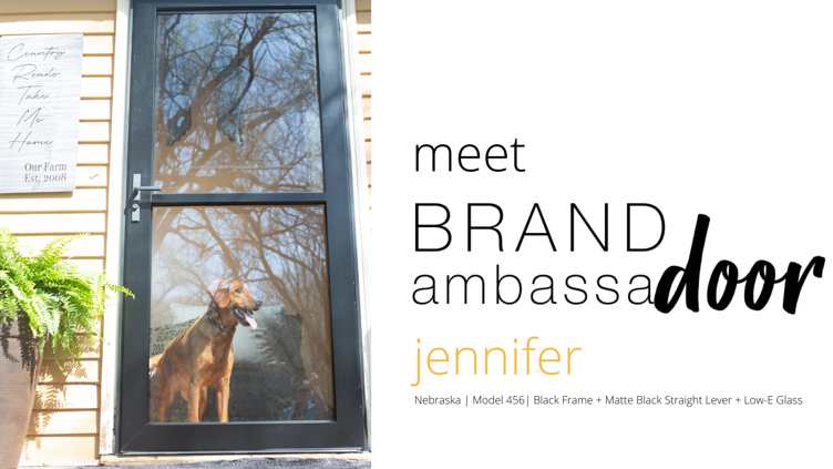 Brand Ambassadoor Blog Header - Jennifer