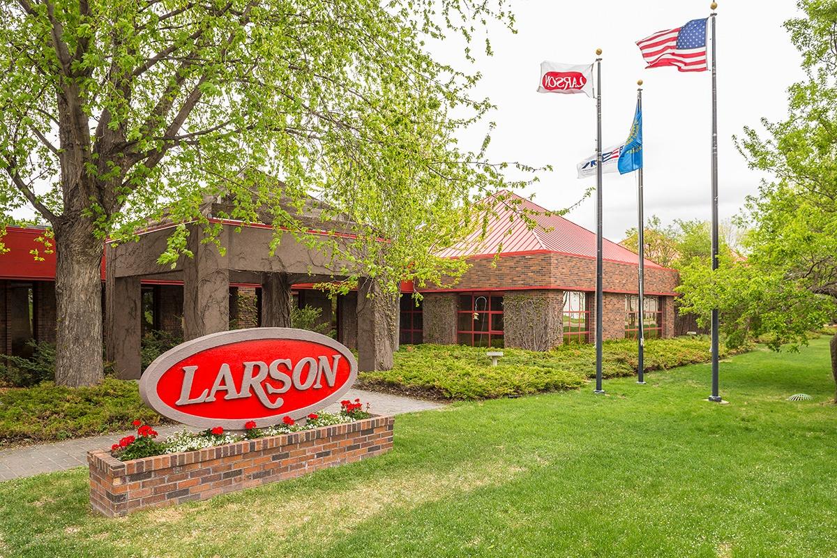 Larson Manufacturing Headquarters.