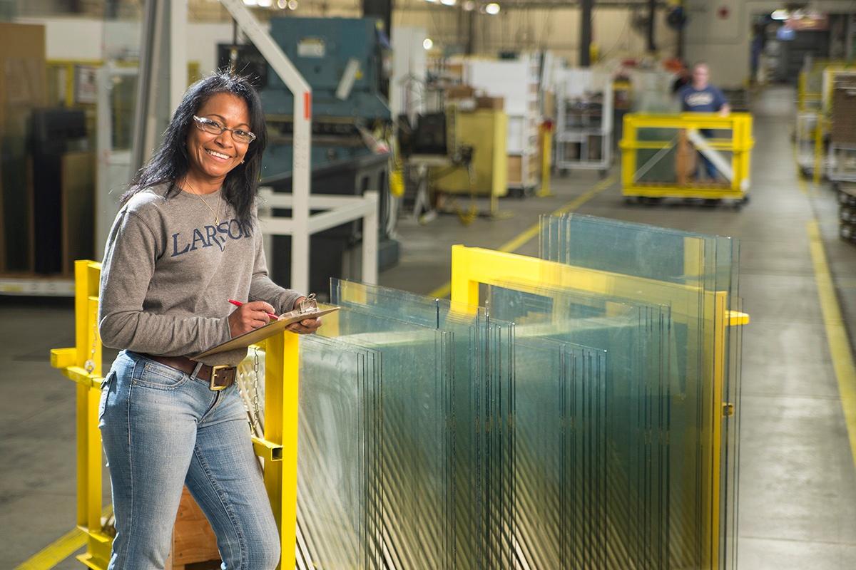 Larson Manufacturing Employee