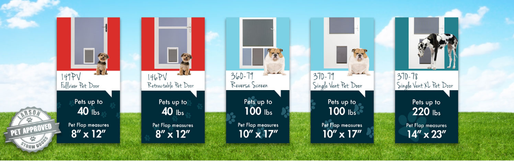 Compare Larson Pet Storm Doors