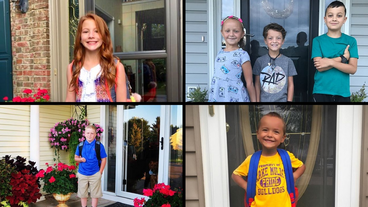 Our favority back to school photos from 2017