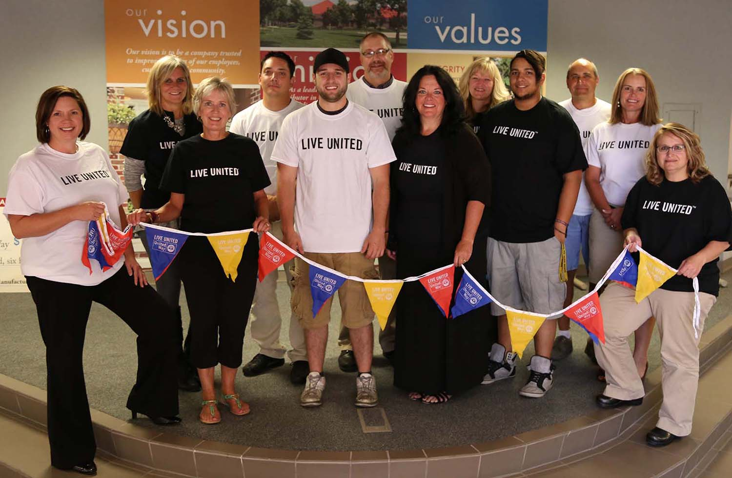 4 Traditions Of Giving Larson Manufacturing Honors Annually UnitedWayCommittee-2016.jpg