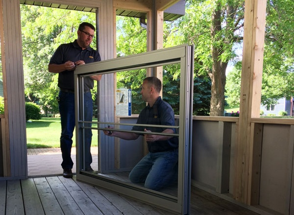 Install Your Scenix Porch Windows!