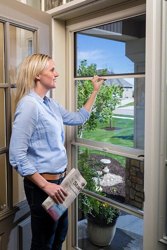 What Is A Screen Away® Door?