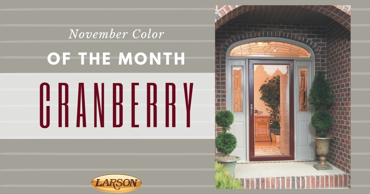 Color of the Month - Cranberry