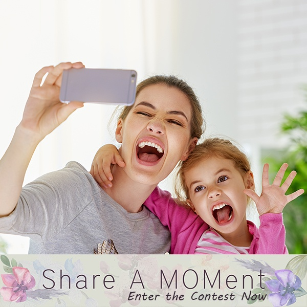 MOMspiration | Share a MOMent Mother's Day Contest