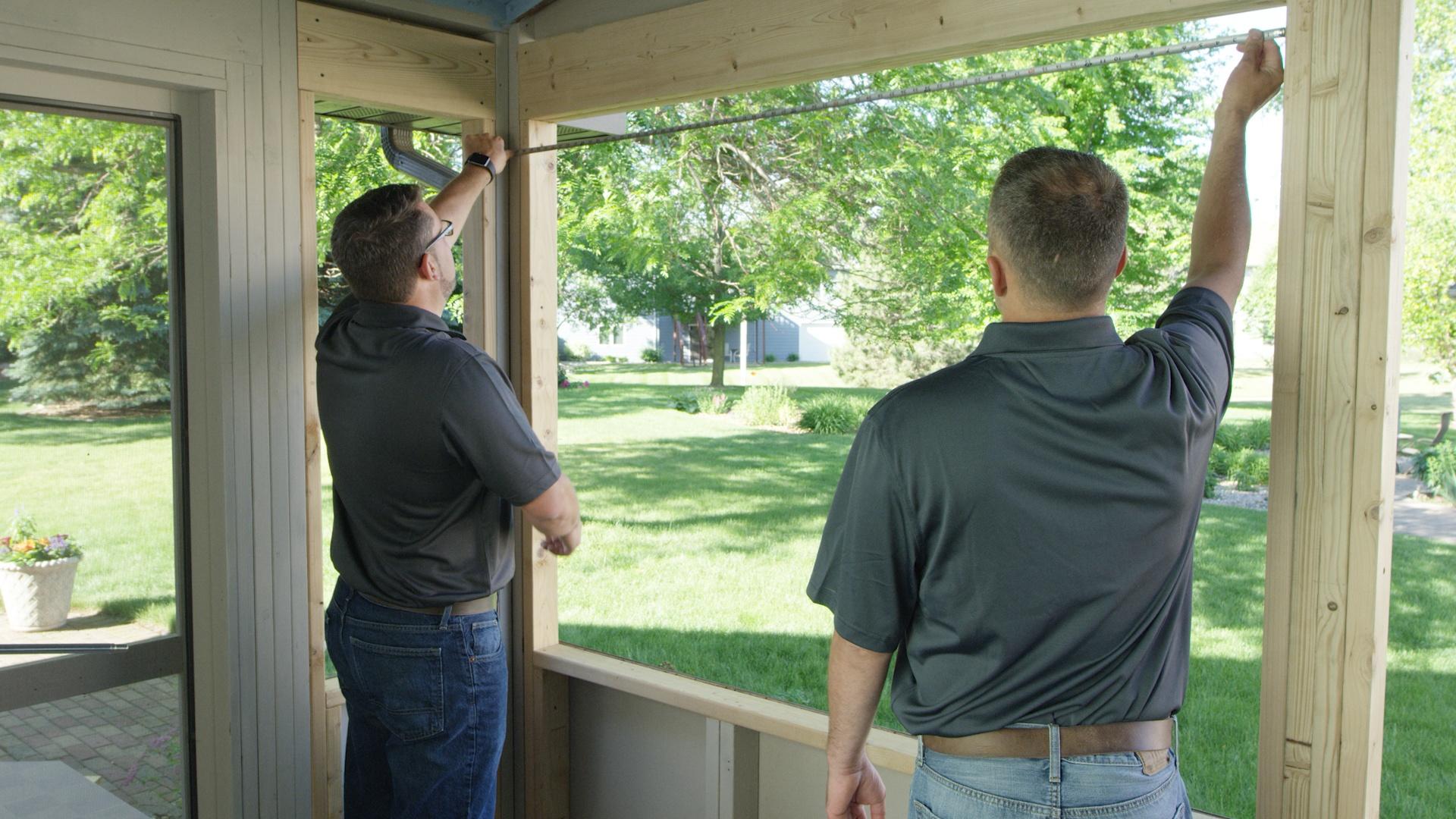 Measure Your Porch for Scenix